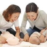 赤ちゃんとのコミュニケーションで資格取得! RTA指定スクールのいん