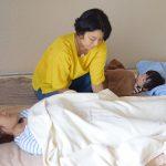 赤ちゃんから大人まで 注目のタッチケア、頭蓋仙骨療法を体験-横浜「Umiのいえ」-