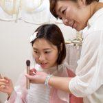 自分の化粧道具を使ってメイクレッスン体験@鎌倉・長谷