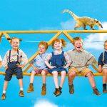 ~世界中のキンダー映画祭を席巻、50超えの賞に輝くキッズムービー! クレーンはジェットコースターに、ではイチゴミルク製造機は何からつくるの!? 四歳児たちの、大好きなおじいちゃん救出大作戦!~