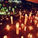 3000本のキャンドルとライティングアートで「灯り」と「光り」の競演 厚木市の婚礼施設を一般開放