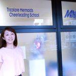 『トリコロールマーメイズチアリーディングスクール』一般社団法人チアリーダーズ協会 代表理事 前岡宏佳さん