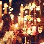 プラネタリウム100万個の星とキャンドル1000本の灯りで幻想的に演出!厚木市の婚礼施設を一般開放